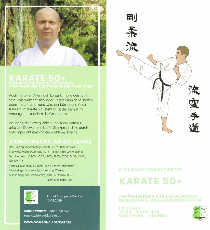 Karate50Flyer